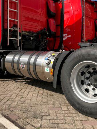 Drie Scania LNG trekkers in gebruik genomen in Ittervoort