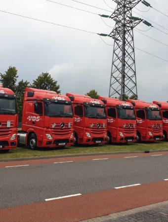 Trucks van Vos Transport