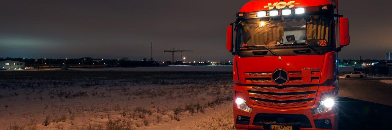 Transport van goederen Frankrijk