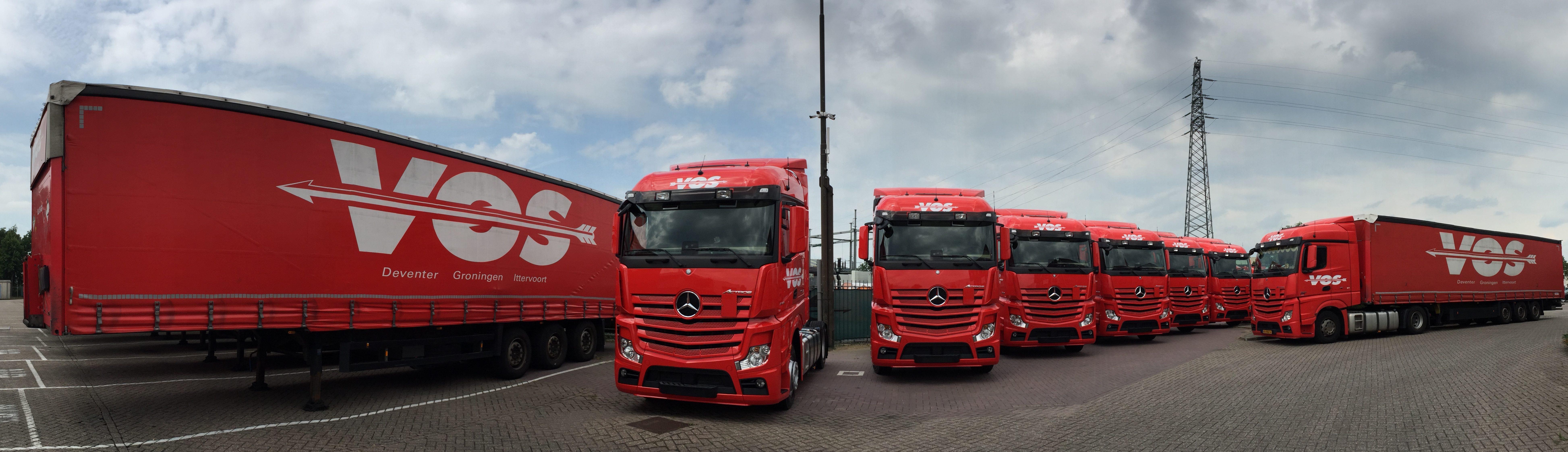 Wagenpark Vos Transport
