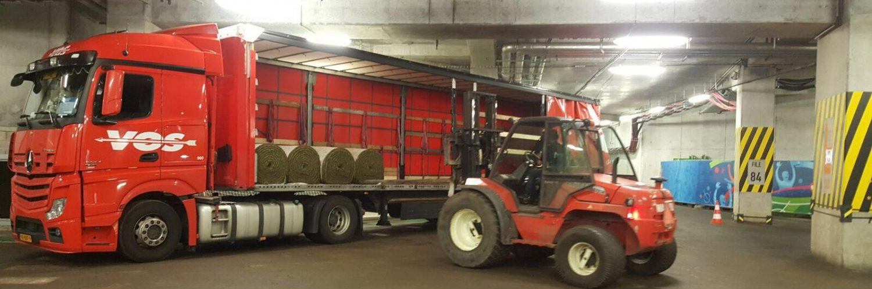 Denemarken Vos Transportbedrijf