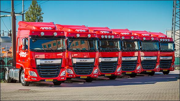 Nieuwe trucks DAF