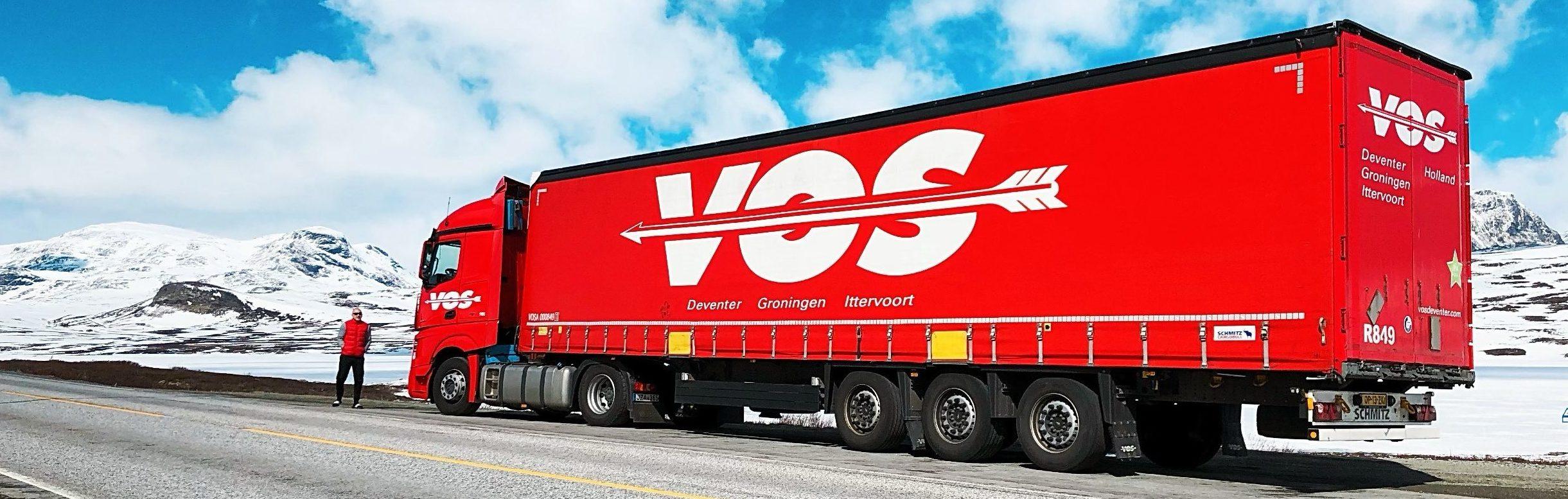 Noorwegen Vos Transport