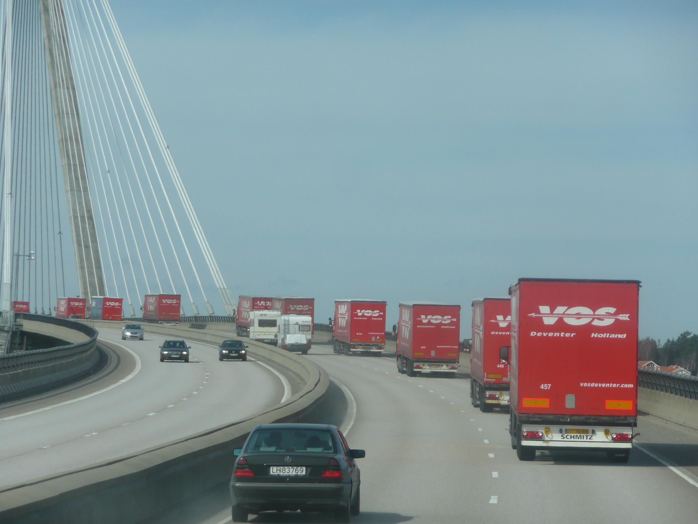 Scandinavië transport