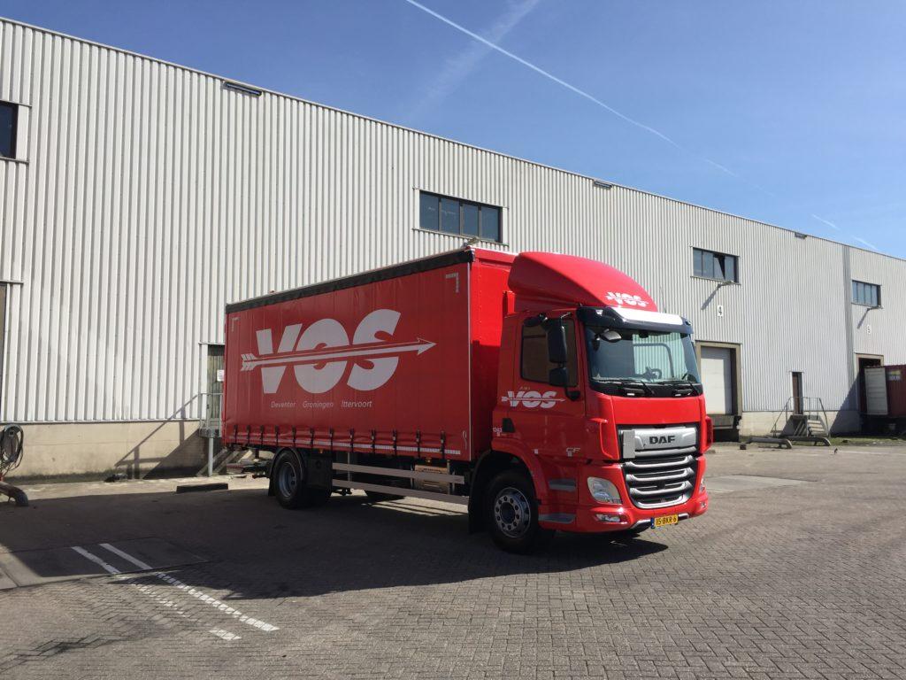 Vrachtwagen voor distributie Benelux