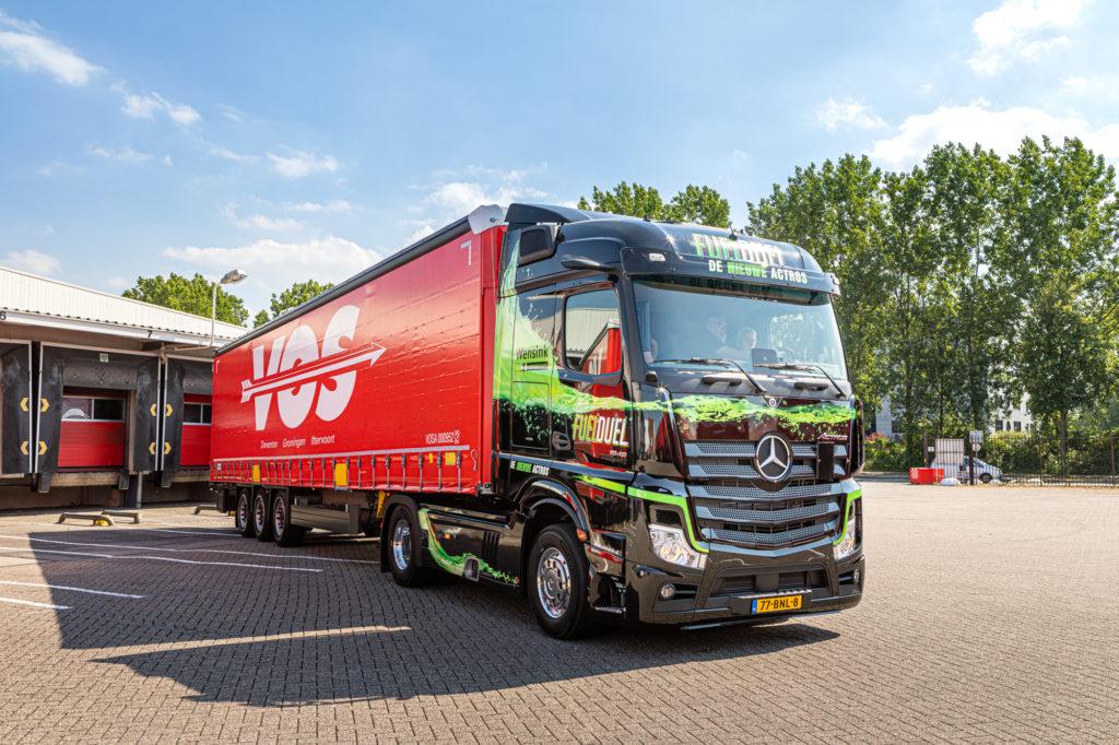 Vrachtwagen voor distributie Zweden