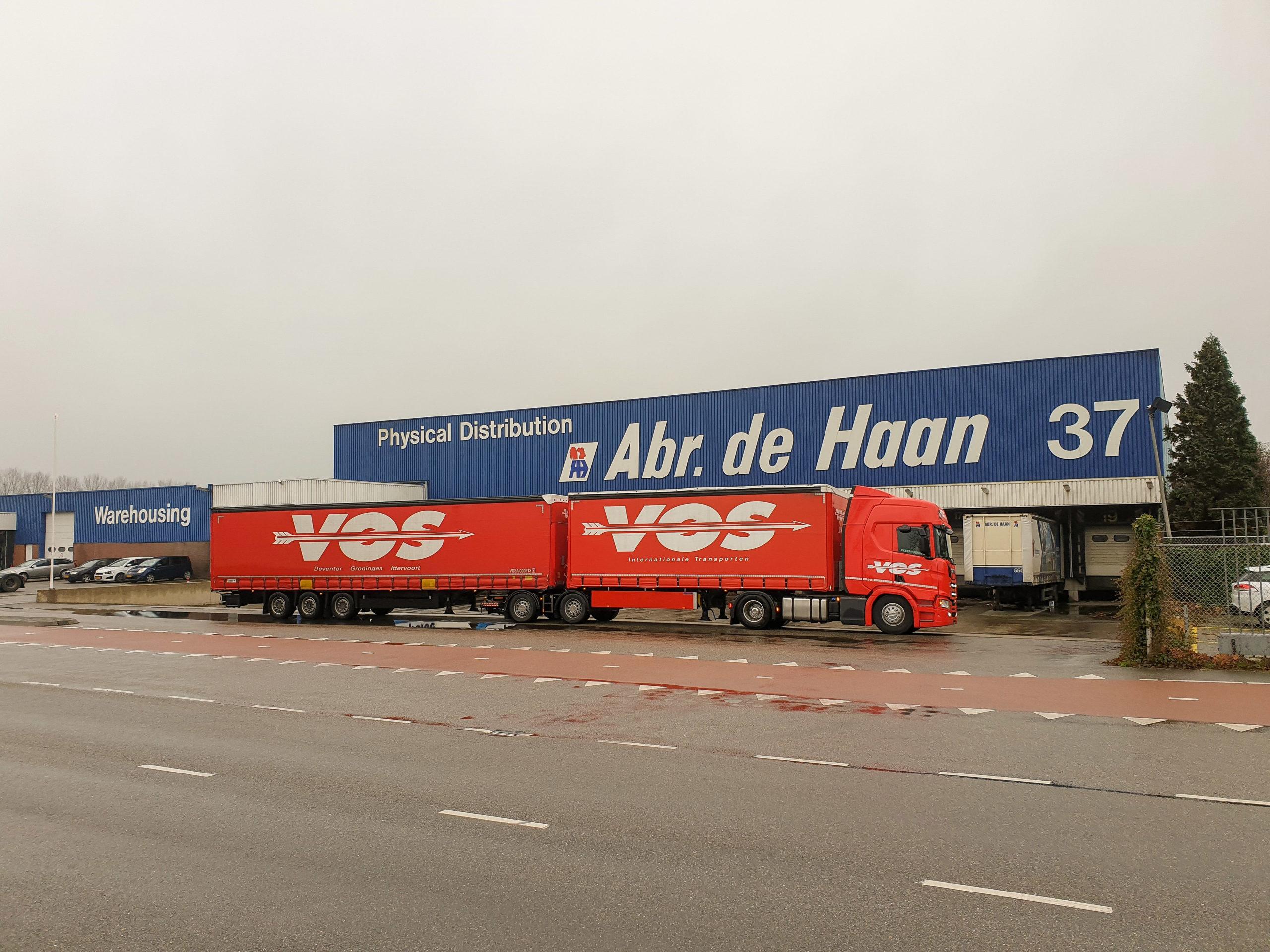 Vos Transport neemt abr. de Haan logistics over