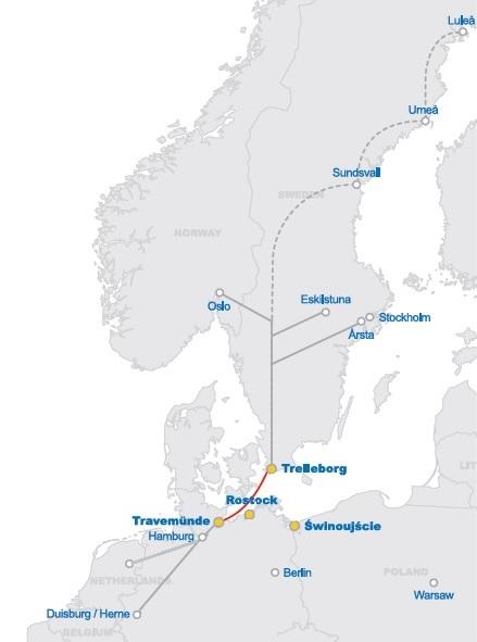 Transporteren naar Denemarken