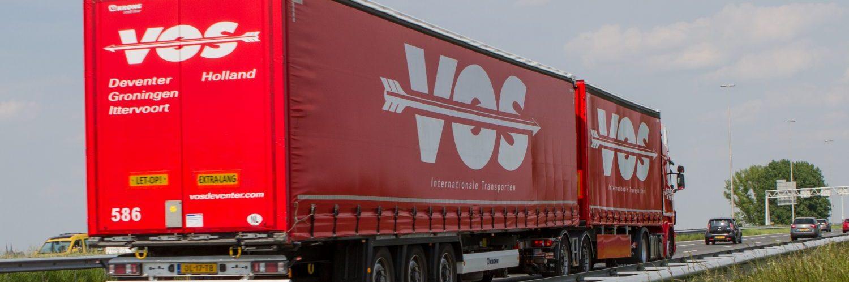 Palletruil bij Vos Transport Europallet